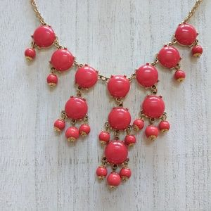 Jewelry - Coral and Gold Costume Necklace